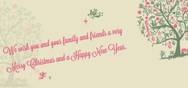 Merry Christmas & Happy New Year 2013!