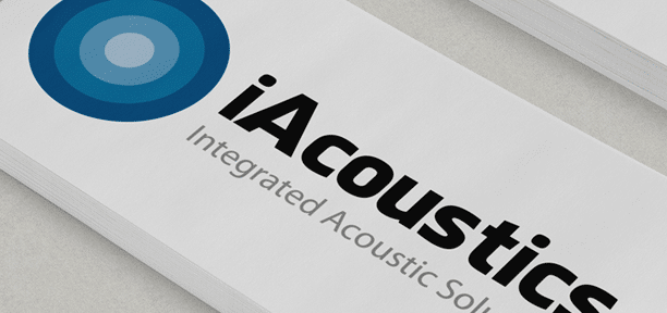 iAcoustics (Integrated Acoustic Solutions) Branding