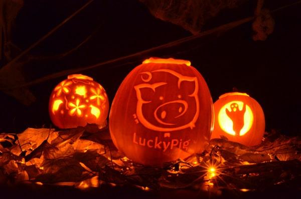 Halloween - Lucky Pig - 2012