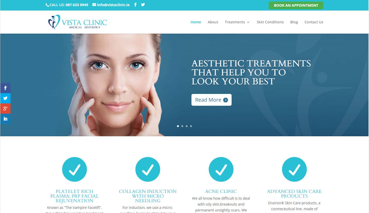 Vista Clinic -  Website Design & Web Development