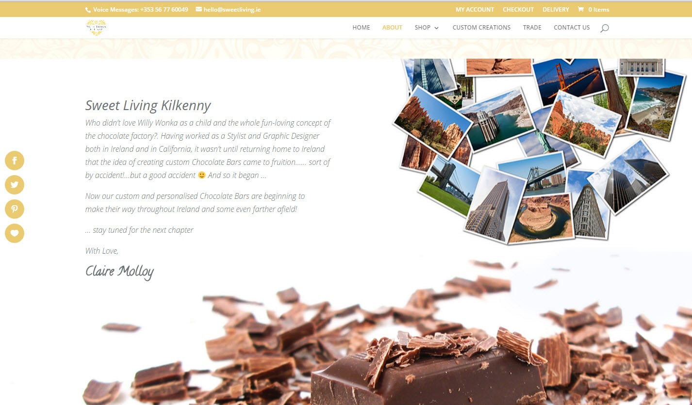 Sweetliving Online Store - eCommerce, Website Design & Web Development