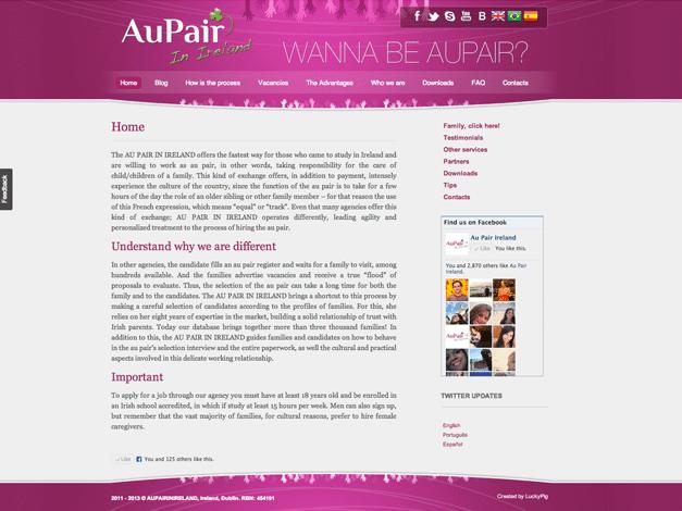 aupair-in-ireland-website