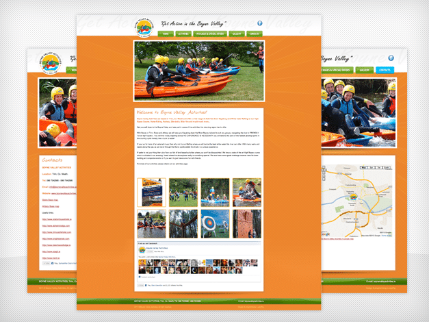 boynevalleyactivities-website-development